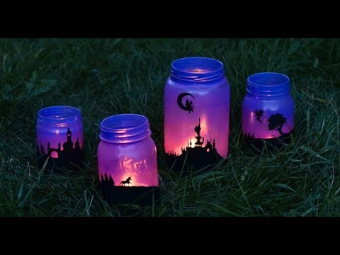 Fairy Tale Lanterns from Mason Jars