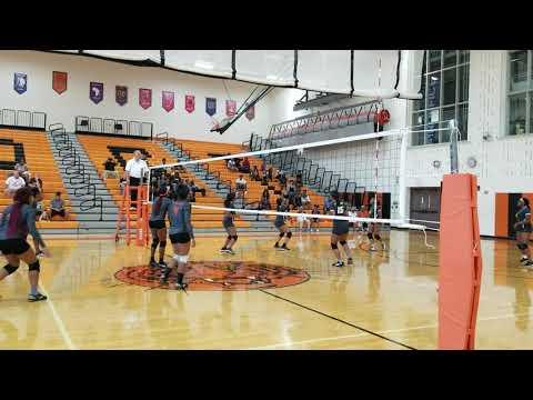 Columbus East High School Volleyball Team Fall 2018 (3)