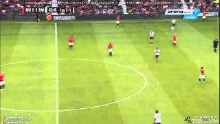 Michael Tarnat Amazing Free Kick Goal   Manchester United vs Bayern Munich 4-2 Legends Match 2015 HD
