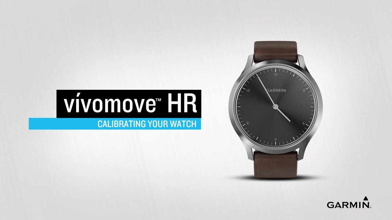 vívomove HR: Calibrating Your Watch