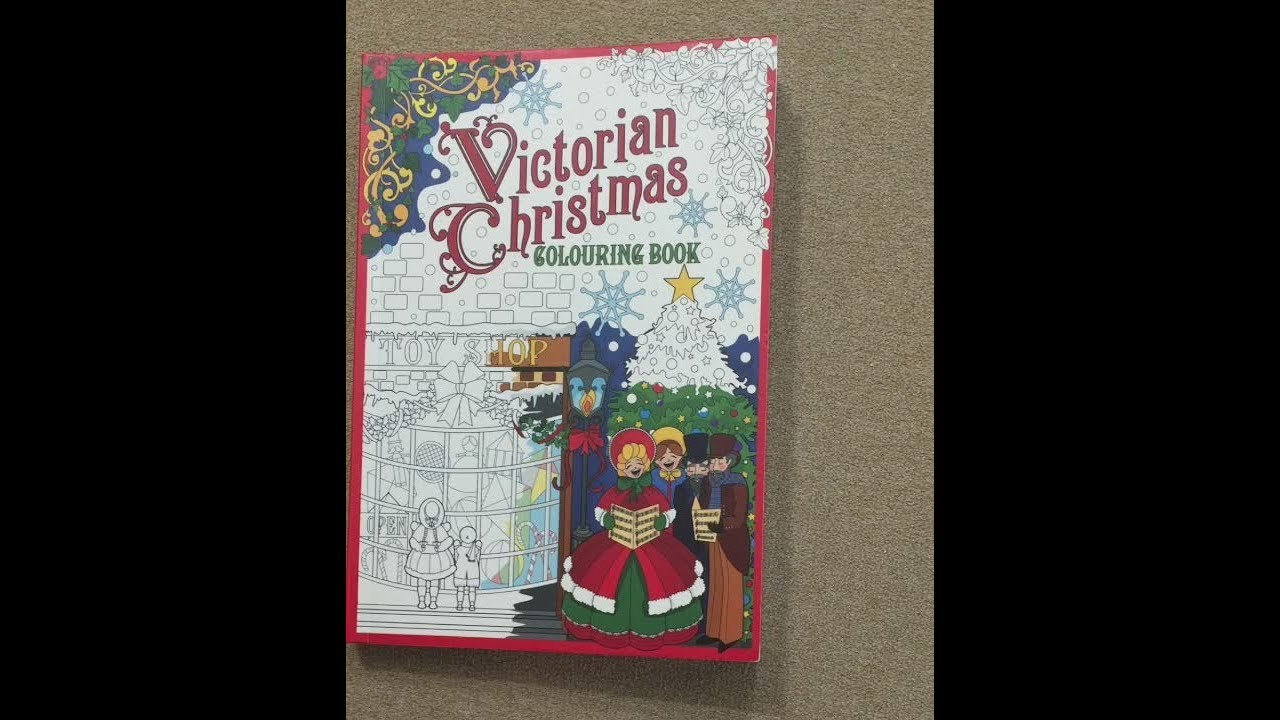 victorian christmas flip through