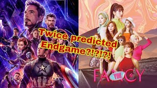 TWICE FANCY X AVENGERS ENDGAME THEORY