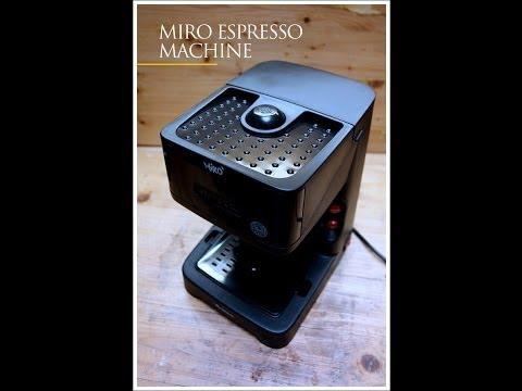 Miro 1339 Making Espresso