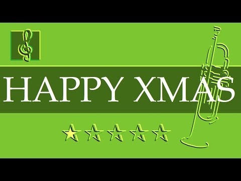 trumpet guitar duet happy xmas john lennon christmas song sheet music guitar chords - John Lennon Christmas Song