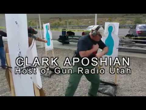 Clark Aposhian, Gun Radio Utah, Shoots and Slashes at LETC 2015