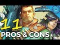 11 PROS and CONS of Paladins: Battlegrounds!