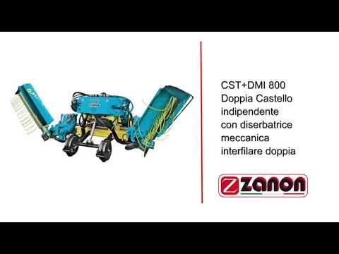 Cositoarea Hidraulică Zanon 800 CST+ DMI  Foarte Buna In Culturile De Vita De Vie Si Pomi