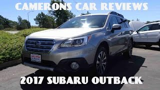 2017 subaru outback limited 2 5 l 4 cylinder review   camerons car reviews