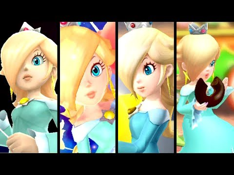Super Mario Evolution of ROSALINA'S VOICE 2007-2017 (Switch to Wii)