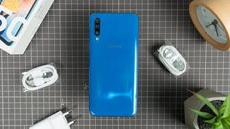 Mở hộp Samsung GALAXY A50 chính hãng 😍