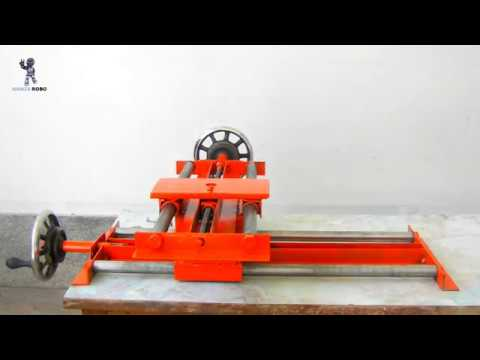 How to make mini lathe machine at home# ( part 1 )