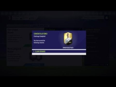 FIFA 18 SQUAD BUILDING CHALLENGES LEAGUE AND NATION (ONE NATION MIDFIELD) (SBC)