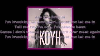 Maggie Lindemann - Knocking on Your Heart (Lyrics)
