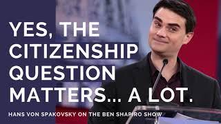Hans von Spakovsky on Ben Shapiro Show: Census Citizenship Question is Constitutional