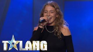 "Enigma ""Nigma"" Berghs rap gör succé hos juryn i Talang 2017 - Talang (TV4)"