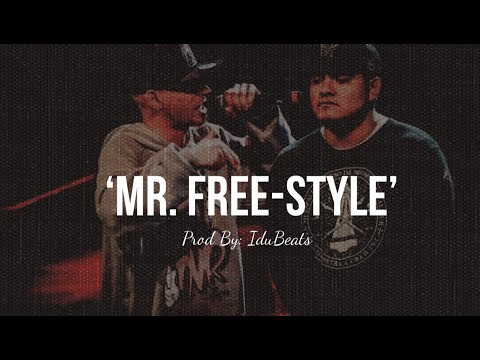 """MR. FREE - STYLE - BASE DE RAP PARA IMPROVISAR PROD BY IDUBEATS"