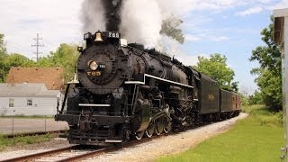 Nickel Plate Road 765, Owosso, Michigan, June 21 2014
