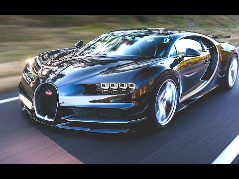 Bugatti Chiron Commercial First Official New Bugatti Chiron World ...