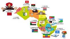 RETENIR : Les pays d'Afrique 1ere partie