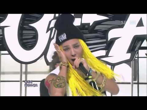 HD 120916 G-DRAGON (Big Bang) - One of a Kind + Crayon @ Inkigayo