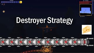 Terraria: Very easy destroyer strategy using dynamite [Expert]