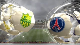 FC Nantes - Paris Saint-Germain [FIFA 13] | Ligue 1 2013-2014 (3ème Journée) | CPU Vs. CPU