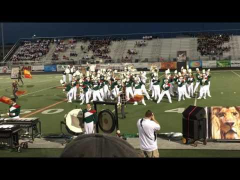 Musselman High School marching band performing Animal by Maroon 5 Adam Levine