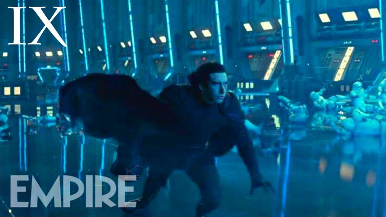 Star Wars Kylo Ren Fighting Somebody In Latest Press Image