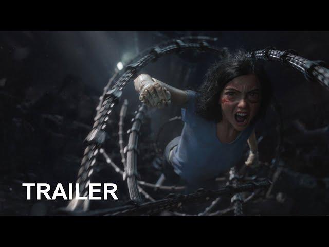 Alita: Battle Angel - Officiell Trailer #2 HD SE