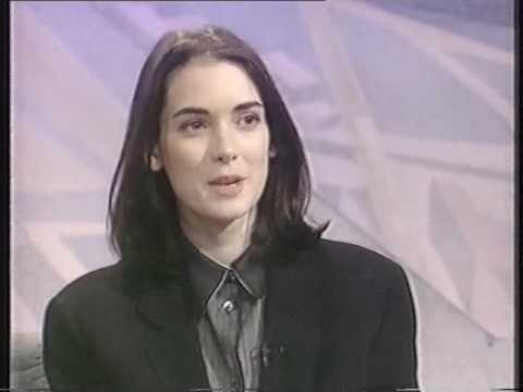 Winona Ryder 1991 UK TV