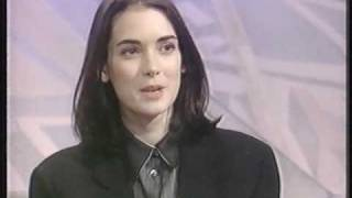 Winona Ryder 1991 UK TV interview