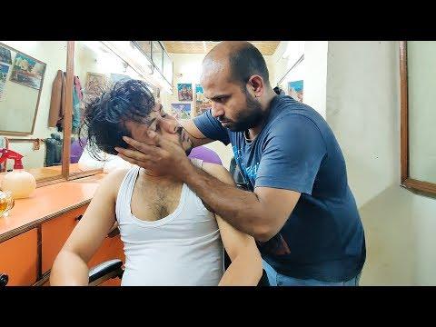 Mustard Oil Head Massage and Neck Cracking by Reiki Master   Indian Massage