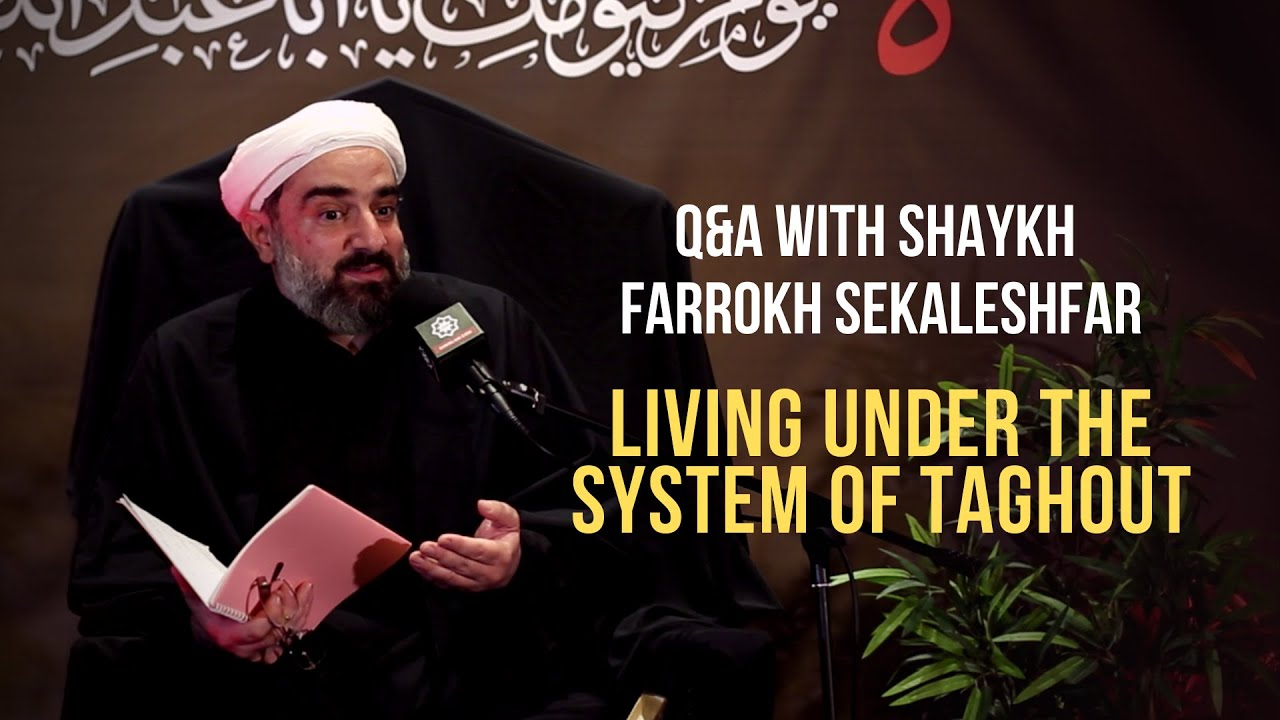 Download Q&A with Shaykh Farrokh Sekaleshfar