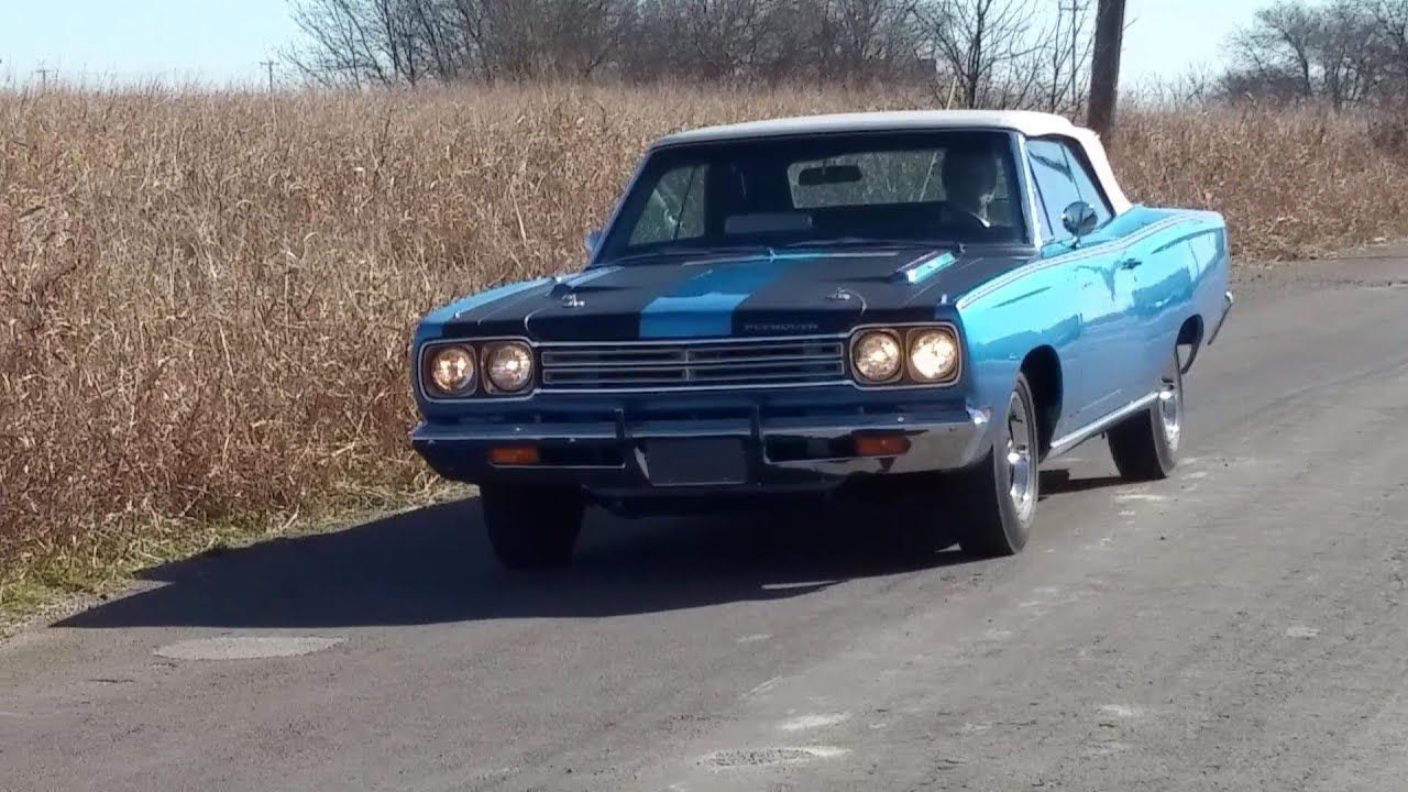 1969 plymouth road runner 383 four speed mopar convertible youtube freerunsca Images