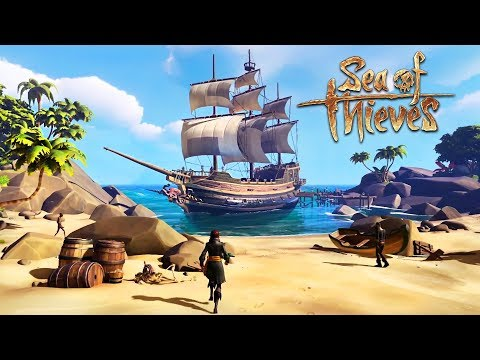 WE'RE PIRATES!! (Sea of Thieves)
