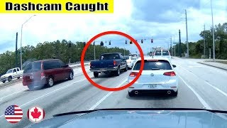 Ultimate North American Cars Driving Fails Compilation - 62 [Dash Cam Caught Video]