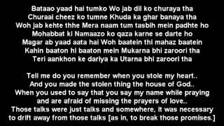 Скачать Rahat Fateh Ali Khan Zaroori Tha Lyrics