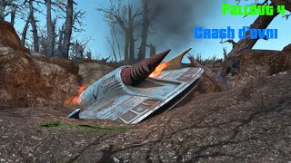[Fallout 4] Crash d'OVNI