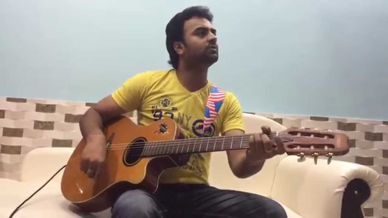 Sapna Jahan ( Brothers - Sonu Nigam ) guitar cover by palash - YouTube