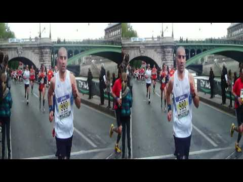 MARATHON DE PARIS 2012 en 3D (Long métrage) Souvenir