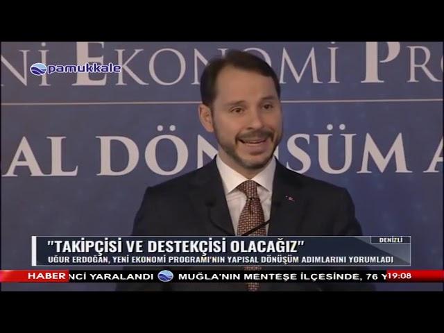 Pamukkale Tv-Başkan Erdoğan, Yeni Yapısal Dönüşüm Adımlarını Değerlendirdi 11.04.2019