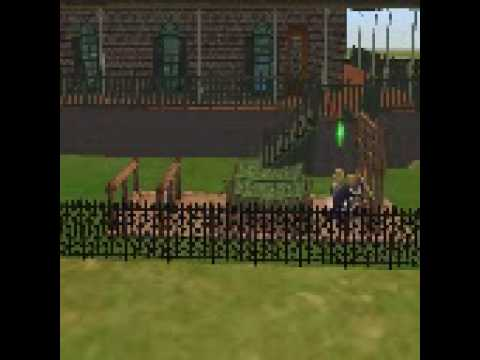 The Sims 2: Kurt Cobain and Courtney Love Run Obstacle Course