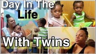 Anxiety attack In Public With Toddler Twins! | Day In The Life Of A Single Mom  PLUS  Toddler Twins