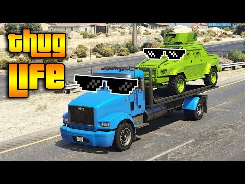GTA 5 ONLINE : THUG LIFE AND FUNNY MOMENTS (WINS, STUNTS AND FAILS #130)