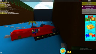 Build a boat for treasure wipeout