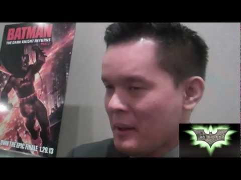 Dark Knight Returns: Director Jay Oliva -DK Cameos, Flashpoint And DC Shorts