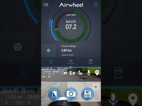 Archos Airwheel E6 - Dashcam App Review