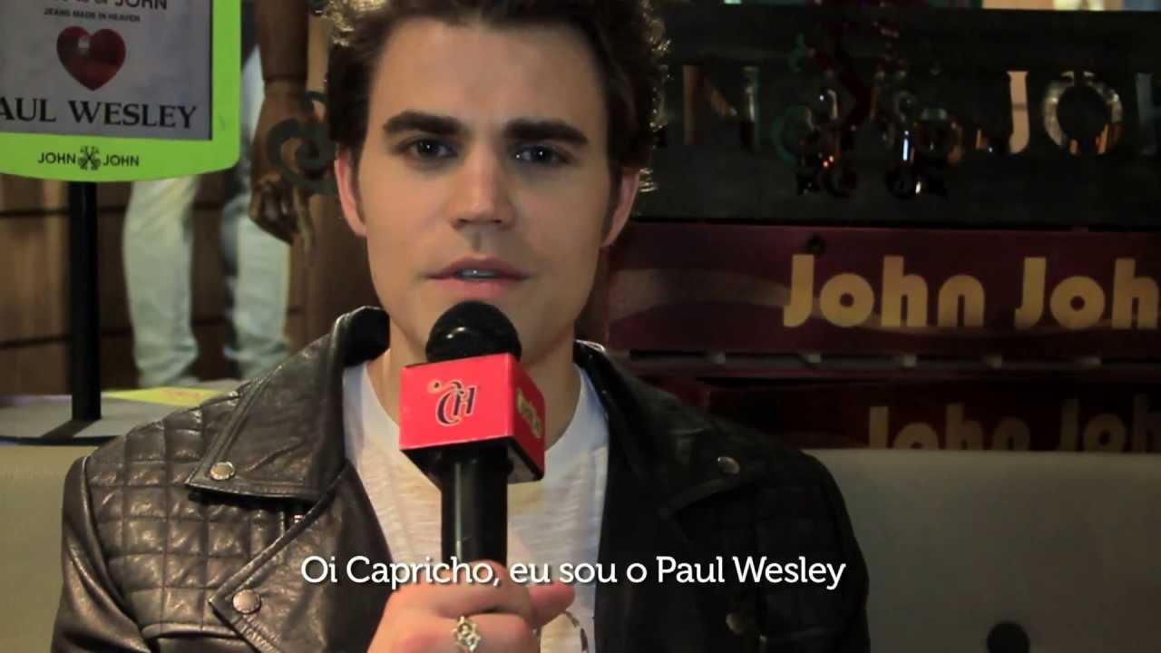 """Paul Wesley, de """"Vampire Diaries"""", conta seus segredos em entrevista à CAPRICHO"""