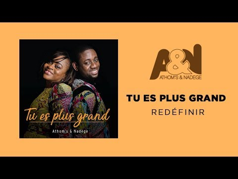 Nadege Mbuma - Tu es plus Grand [Lyric video]