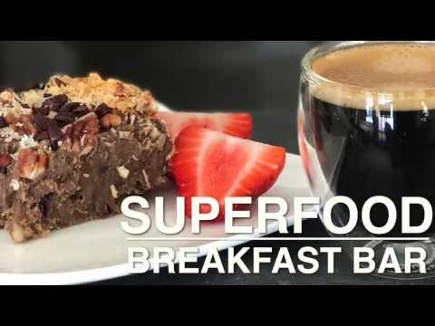 Superfood Protein Breakfast Bars Gluten Free, Dairy Free